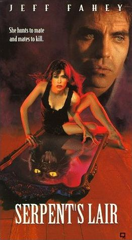 VHS Box Cover of the movie Serpent's Lair