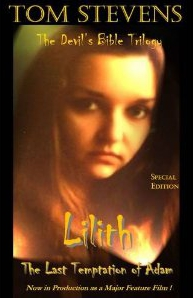 Lilith: The Last Temptation of Adam Book Cover, written by Tom Stevens