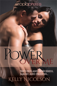 Power Over Me eBook Cover, written by Kelly Nicolson
