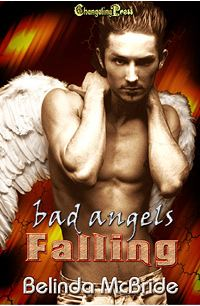 Bad Angels: Falling eBook Cover, written by Belinda McBride