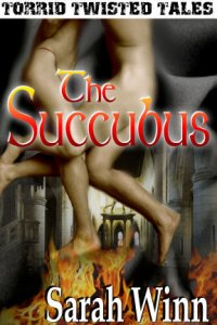 The Succubus eBook Cover, written by Sarah Winn