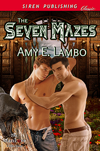The Seven Mazes eBook Cover, written by Amy E. Lambo