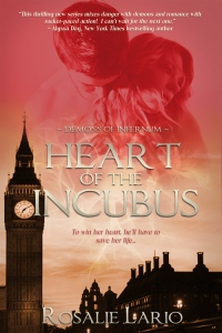 Heart of the Incubus eBook Cover, written by Rosalie Lario