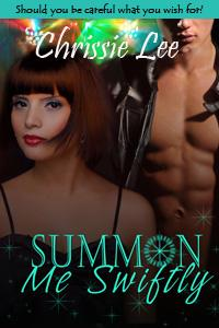 Summon Me Swiftly eBook Cover, written by Chrissie Lee