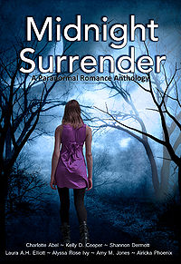 Midnight Surrender eBook Cover, edited by Kris Kendall