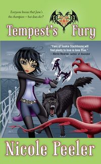 Tempest's Fury Book Cover, written by Nichole Peeler