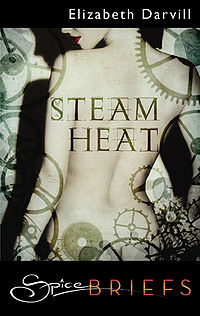 Steam Heat eBook Cover, written by Elizabeth Darvill