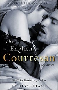 The English Courtesan eBook Cover, written by Louisa Crane