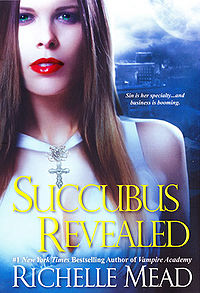 Succubus Revealed Original Book Cover, written by Richelle Mead