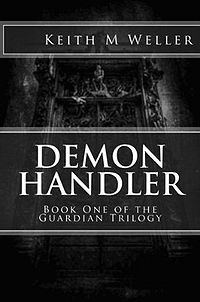 Demon Handler Book Cover, written by Keith Michael Weller