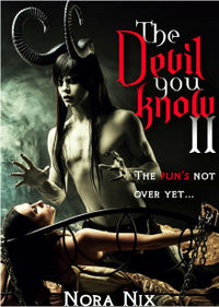 The Devil You Know II eBook Cover, written by Nora Nix