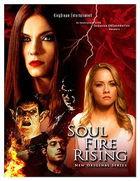 Promotional poster for the web series Soul Fire Rising