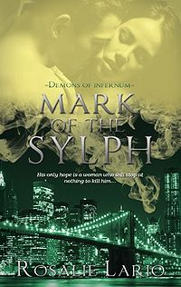 Mark of the Sylph Book Cover, written by Rosalie Lario