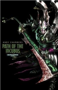 Path of the Incubus Book Cover, written by Andy Chambers