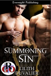 Summoning Sin eBook Cover, written by Lilith Duvalier