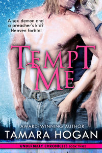 Tempt Me eBook Cover, written by Tamara Hogan