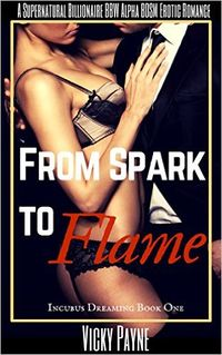 From Spark To Flame eBook Cover, written by Vicky Payne