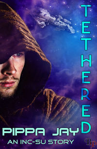 Tethered eBook Cover, written by Pippa Jay