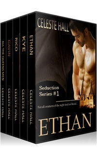 Celeste Hall's Seduction Series eBook Cover, written by Celeste Hall