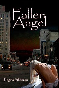 Fallen Angel Book Cover, written by Regina Sherman