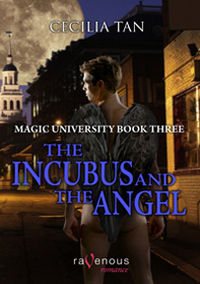 Magic University: The Incubus and the Angel eBook Cover, written by Cecilia Tan