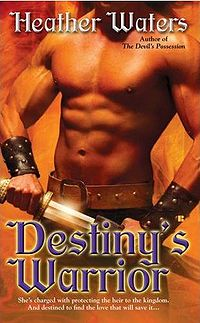 Destiny's Warrior Book Cover, written by Heather Waters