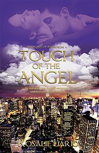 Touch of the Angel Book Cover, written by Rosalie Lario