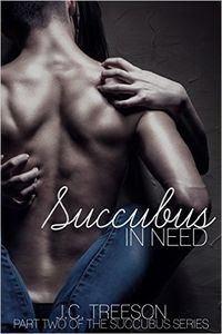 Succubus in Need eBook Cover, written by J.C. Treeson