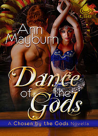 Dance Of The Gods eBook Cover, written by Ann Mayburn