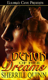 Demon of Her Dreams eBook Cover, written by Sherrill Quinn
