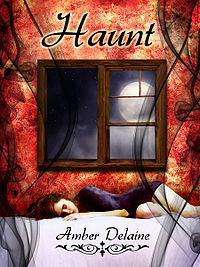 Haunt eBook Cover, written by Amber Delaine