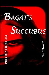 Bagat's Succubus Book Cover, written by Dino P. Simonetti