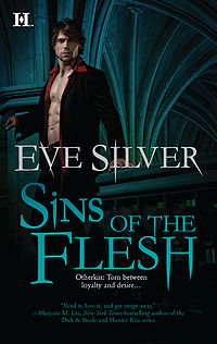 Sins of the Flesh Book Cover, written by Eve Silver