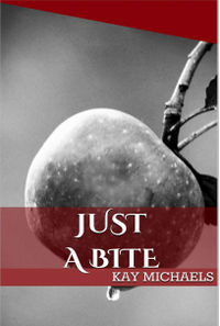 Just a Bite eBook Cover, written by Kay Michaels
