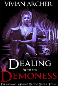 Dealing with the Demoness  eBook Cover, written by Vivian Archer