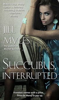 Succubus, Interrupted eBook Cover, written by Jill Myles