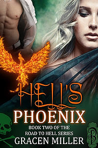 Hell's Phoenix eBook Cover, written by Gracen Miller