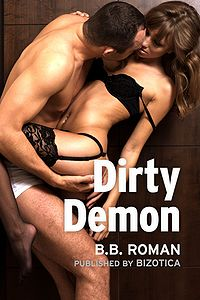 Dirty Demon eBook Cover, written by B.B. Roman