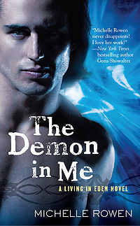 The Demon In Me Book Cover, written by Michelle Rowen