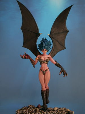 Succubus Figurine by Aurora Model