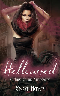 Hellcursed eBook Cover, written by Erica Hayes