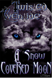 A Snow Covered Moon eBook Cover, written by L.M. Adams