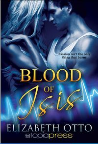 Blood of Isis eBook Cover, written by Elizabeth Otto