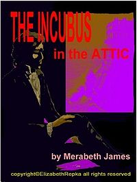 The Incubus in the Attic eBook Cover, written by Merabeth James