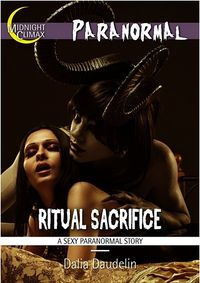 Ritual Sacrifice eBook Cover, written by Dalia Daudelin