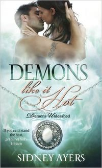 Demons Like It Hot eBook Cover, written by Sidney Ayers