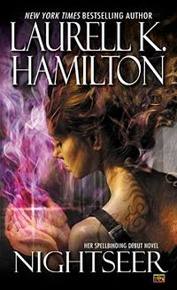 Nightseer Book Cover, written by Laurell K. Hamilton