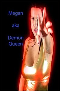 Megan aka Demon Queen eBook Cover, written by Dou7g and Amanda Lash