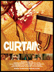 Movie poster for the short film Curtain