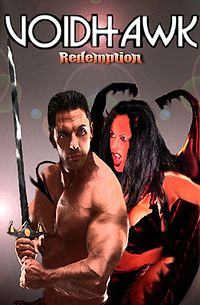 Voidhawk - Redemption eBook Cover, written by Jason Halstead